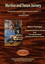 Mortise and Tenon Joinery - DVD