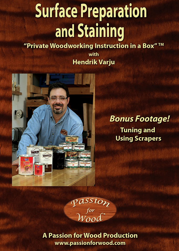 Surface Preparation and Staining - Dvd Cover