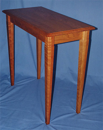 Tapered Leg Side Table