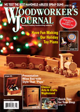 Woodworker's Journal - November/December 2014
