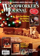 Woodworker's Journal - November/December 2014