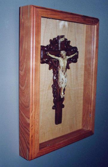 Crucifix Display Case