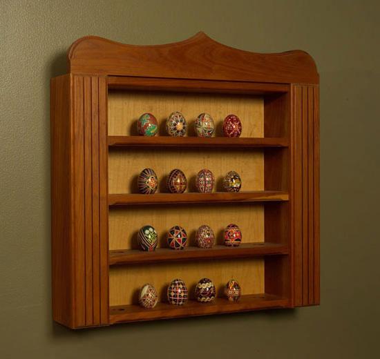 Easter Egg Display Cabinet