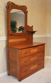 Eastern American Chest of Drawers (Circa 1870s)