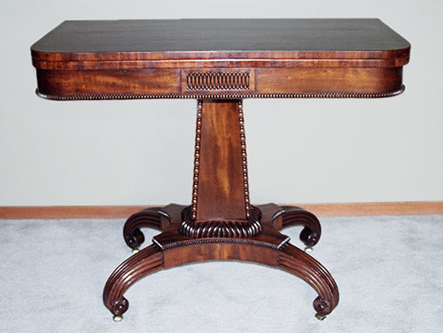 Antique Folding Leaf Game Table