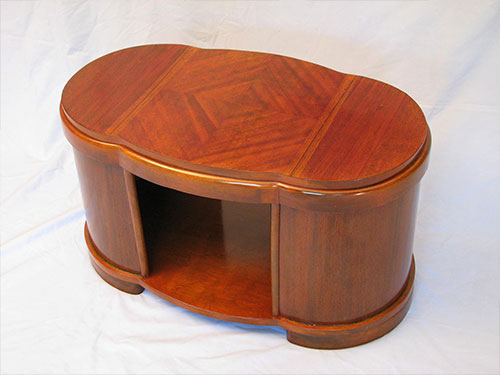 Mahogany Art Deco Occasional Table