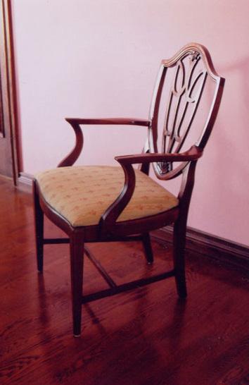 Restoration of Mahogany Dining Chairs