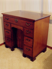Knee-Hole Desk (Circa 1670)