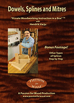 Dowels, Splines and Mitres - DVD